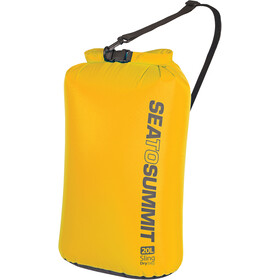 Sea to Summit Lightweight Sling Sac de compression étanche 20l, yellow